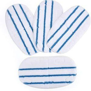 Microfiber Replacement Steam Mop Pads 4 Pack
